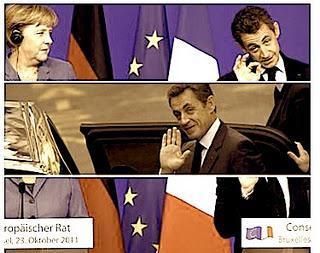 Sarkozy hésite entre nurserie et sommet européen.