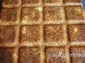 gâteau pommes, noix cannelle pour l'arrivée gavotte
