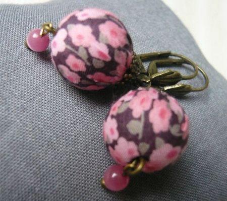 Boucles d'oreilles Liberty La Souris à Plume Lilooka bijoux d'Ari Penny