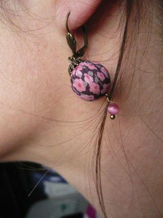 Boucles d'oreilles Liberty La Souris à Plume Lilooka bijoux d'Ari (2)