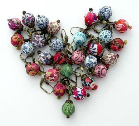 Boucles d'oreilles Liberty La Souris à Plume Lilooka bijoux d'Ari