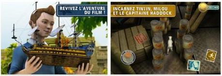 Les Aventures de Tintin : Le Secret de la Licorne débarque sur l'App Store