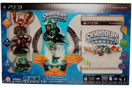 skylanders, spyro, déballage, activision, skylanders spyro adventures,