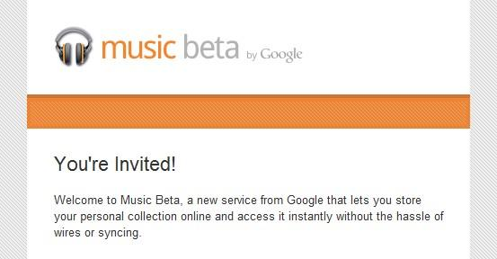 invitation gmail [Invitations] Google Music, stocker ses musiques dans le Cloud