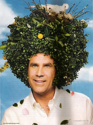 Will Ferrell en couverture du magazine Entertainement Weekly
