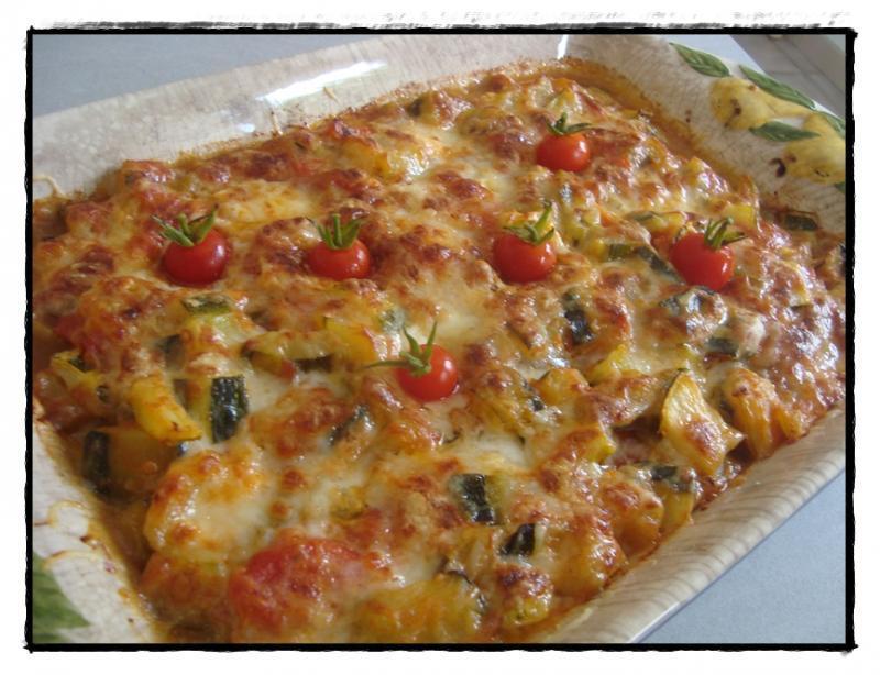 Gratin D Aubergines Courgettes Et Tomates Au Chevre Paperblog