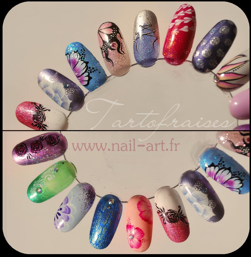 nail art 3d acrylic