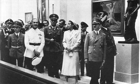 Le IIIème Reich, l'Art officiel et «  l'Entartete Kunst » l'Art dégénéré ou en anglais Degenerate art