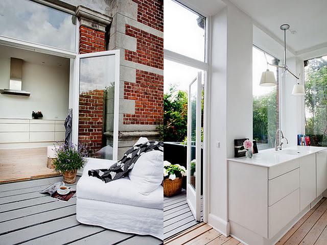 Une cuisine dans la v randa d couvrir - Cuisine dans veranda photo ...