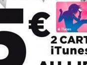 Hypermarchés Géant Casino cartes iTunes proposées