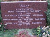 tombe Soraya (ثریا اسفندیاری بختیاری) Westfriedhof Munich