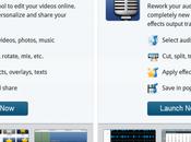 Editeur vidéo audio ligne Filelab