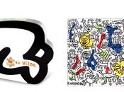 Puzzle Keith Haring pour enfants partir Vilac