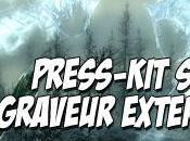 [ARRIVAGE] Press-Kit Elder Scrolls Skyrim Graveur Blu-Ray Externe
