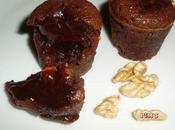 Minis fondants noix chocolat