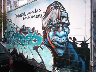 GRAFFITI ON TRUCKS