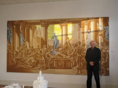 Bernard Latuner – Peplum au musée des Beaux Arts