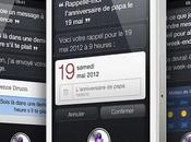 Apple envisagerait porter Siri l'iPhone