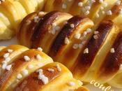Cream parisienne (petits pains briochés fourrés crème pâtissière)