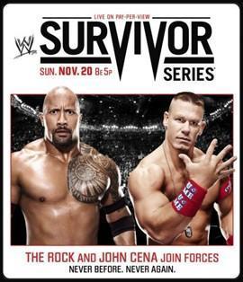 John Cena et The Rock sont à l'honneur sur l'affiche des Survivor Series 2011