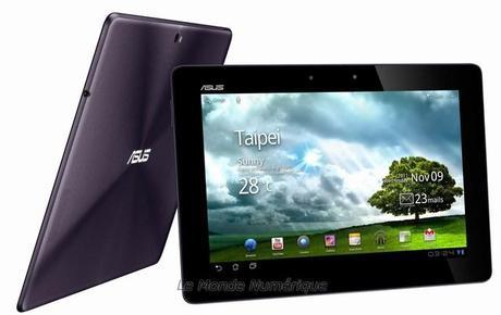 Asus dévoile officiellement la tablette Eee Pad Transformer Prime avec un processeur quatre cœur Nvidia Tegra 3