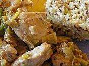 Poulet mariné soja, sauge coriandre