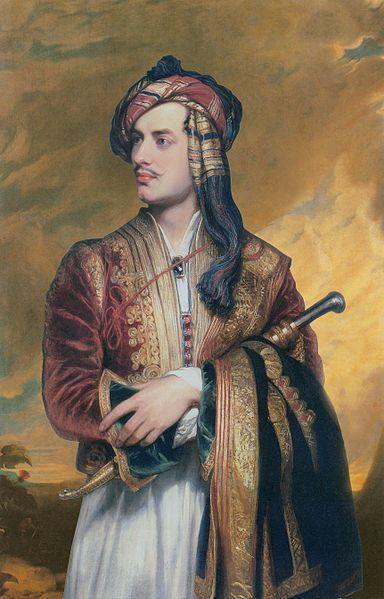 384px Lord Byron in Albanian dress Gothique Romantique