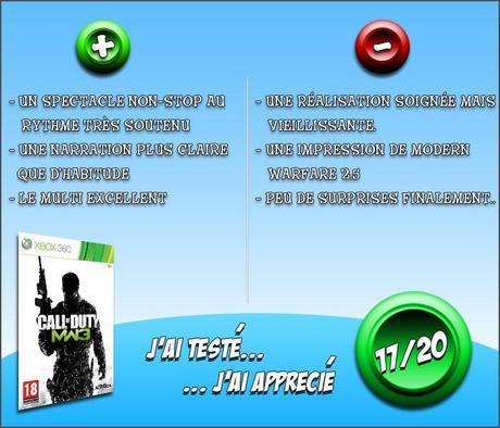 [J'AI TESTÉ...] Call of Duty : Modern Warfare 3