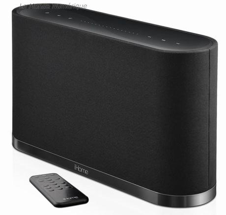 iW1, une enceinte AirPlay sans fil pour iPhone, iPad, iPod mais pas que