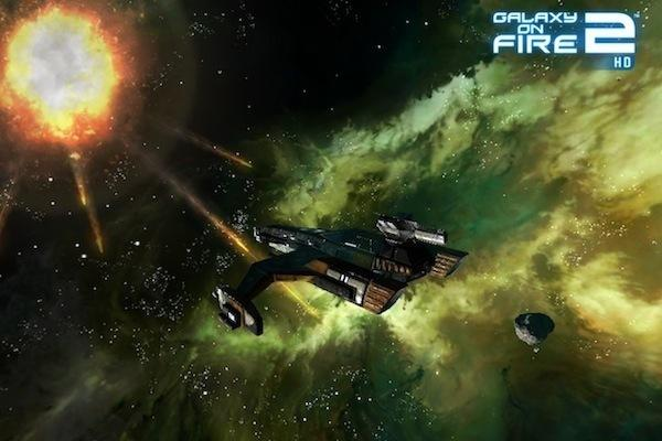 Galaxy on Fire 2 HD, optimisé sur iPhone 4S et iPad 2...