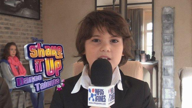 Interviews vidéo des finalistes de Shake it up dance Talents (Disney Channel)
