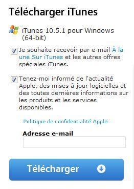 iTunes 10.5.1 disponible au téléchargement