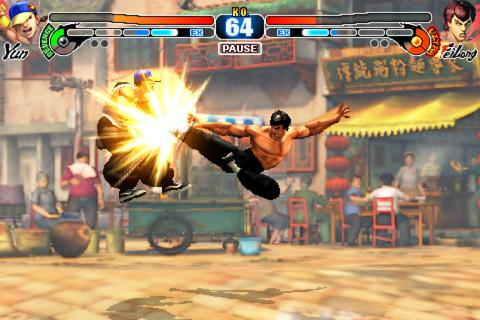 L'excellent jeu Street Fighter IV Volt pour iPhone passe provisoirement de 5,49€ à 0,79€