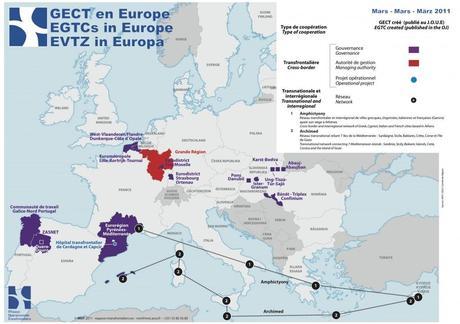 Les GECT, outils de coopération transfrontalière