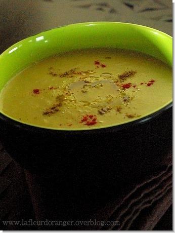 Soupe Aux Petits Pois Casses Cuisine Marocaine Paperblog