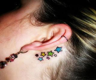 Star Tattoos Designs For Girls