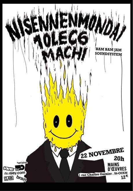 Concours : Nisennenmondai à Mains d'Œuvres (Saint-Ouen),  le 22 novembre