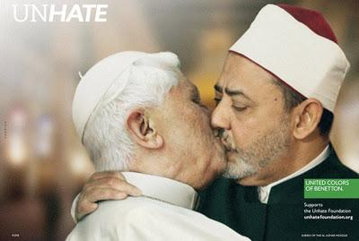 UnHate : nouvelle campagne Peace & Love de Benetton