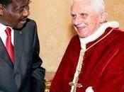 voyage pape Afrique Benoît Béninois