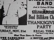 novembre 1942, rejoignez Calloway pour Thanksgiving party Regal Chicago
