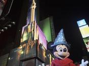 héros Disney s'invitent Times Square
