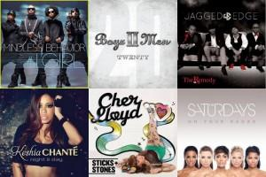 Mini Chronic-feelings: De Boyz 2 Men à The Saturdays passant par Keisha Chante,Jagged Edge ou encore Cher Lloyd.