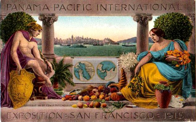 Affiche de la Panama Pacific International Exposition