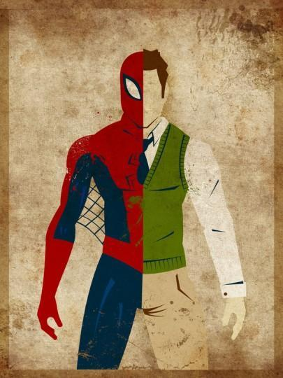 Danny Haas 05 405x540 Les super héros et leurs alter egos !