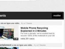 Comment avoir nouvelle version Youtube