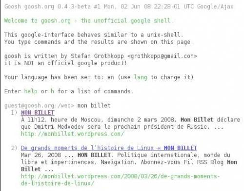 gooshorg-the-unofficial-google-shell