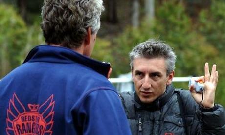 Greg McLean sur le tournage de Rogue