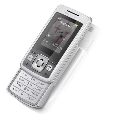 Sony Ericsson T303i Shimmering Silver
