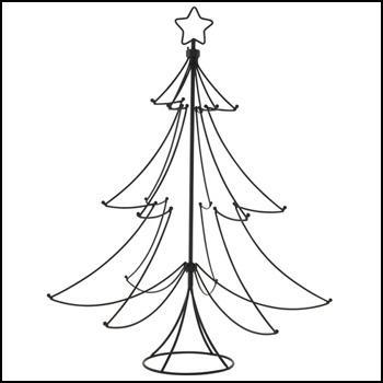 sapin de noel en fer Un sapin de Noël original et déco   Paperblog sapin de noel en fer