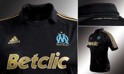 Le nouveau maillot de l'OM créé par ses supporters